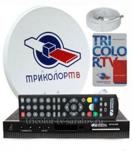 Комплект Триколор ТВ Full HD с ресивером GS U210