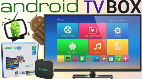 android-tv pristavka