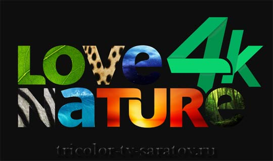 канал love nature 4k